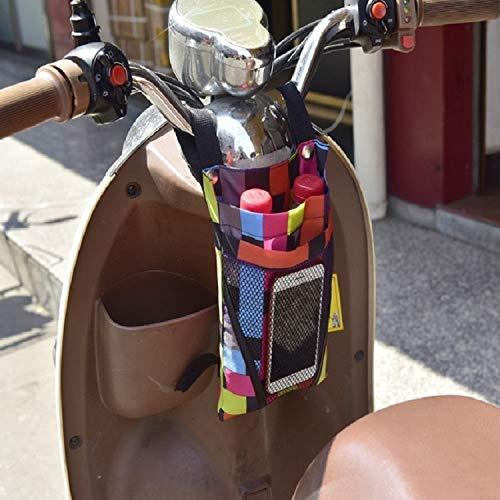 Accesorios para Bicicletas Bolsa de Almacenamiento de Motocicleta eléctrica Pequeña Bolsa de Almacenamiento de la manija Frontal de la Bicicleta, Color: Pequeño Colorido, Zhongxianshangmaoyouxiangong