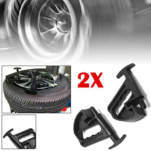 AllRight 2 STK. Reifenmontage Wulstniederhalter Reifenwulst Niederdrücker Montagehilfe Universal Reifenmontage Hilfe Wulsthalter