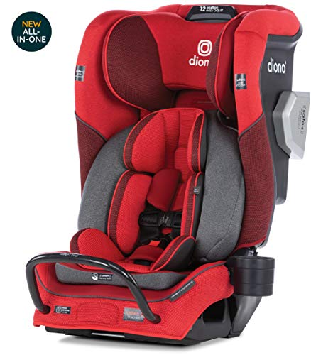 Discover Bargain Diono Radian 3QXT Latch, All-in-One Convertible Car Seat, Red Cherry