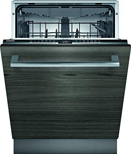 Siemens SX63HX36VE iQ300 Vollintegrierter Geschirrspüler / E / 94 kWh / 13 MGD / Smart Home kompatibel via Home Connect / varioSpeed Plus / Oberkorb mit rackMatic