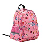 Kids Toddler Backpack for Girls, School Bag for Preschool and Daycare, Pink