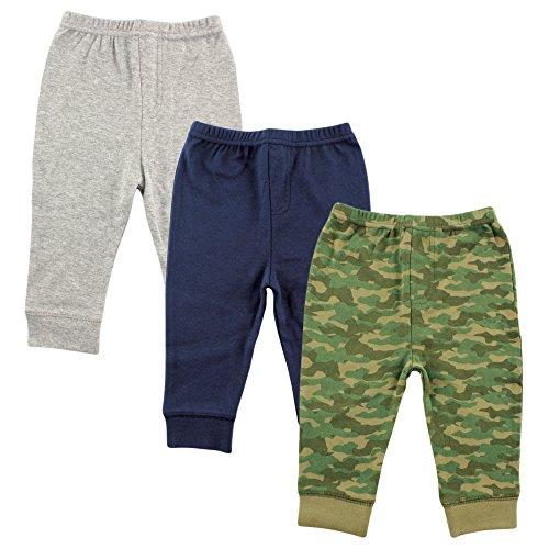 Luvable Friends Unisex Baby Cotton Pants, Camo, 9-12 Months