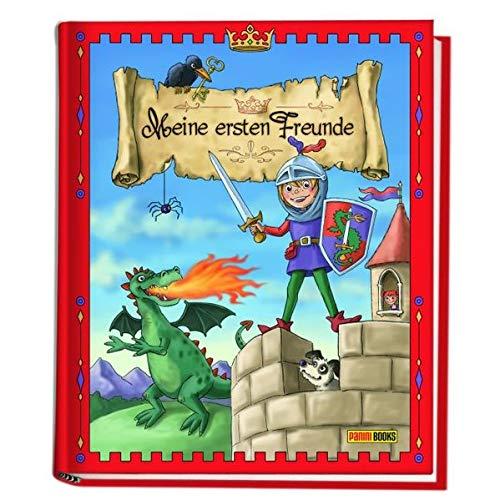 Ritter und Drachen Kindergartenfreundebuch: Meine ersten Freunde