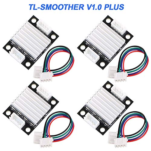 4 Piezas TL-Smoother V1.0 Filtran Impresora 3D radiador