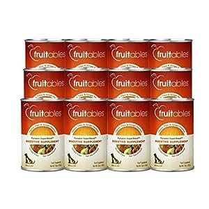 Fruitables Healthy Pumpkin Gluten Free Vitamin and Fiber Superblend Digestive Supplement, 15 Ounce Cans