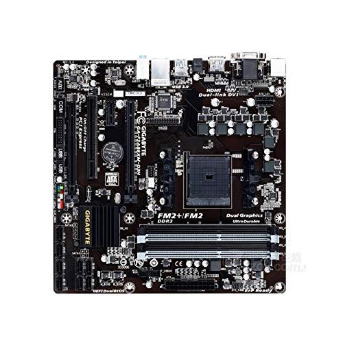 lilili Carte Carte Mère D'ordinateur Adaptée À La Carte Mère Fit for Gigabyte Ga-F2A88XM-D3H pour Slot FM2 A88X FM2 + DDR3 USB3.0 SATA3.0 Carte mère d'ordinateur