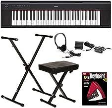 Yamaha Piaggero NP-12 Essential Keyboard Bundle