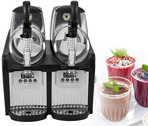 Best Buy! Commercial Slushy Machine Frozen Drink Machine 300W for Supermarkets Cafes Restaurants Sna...