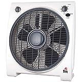 FM S0415655 Ventilador, 200 Decibeles, Blanco