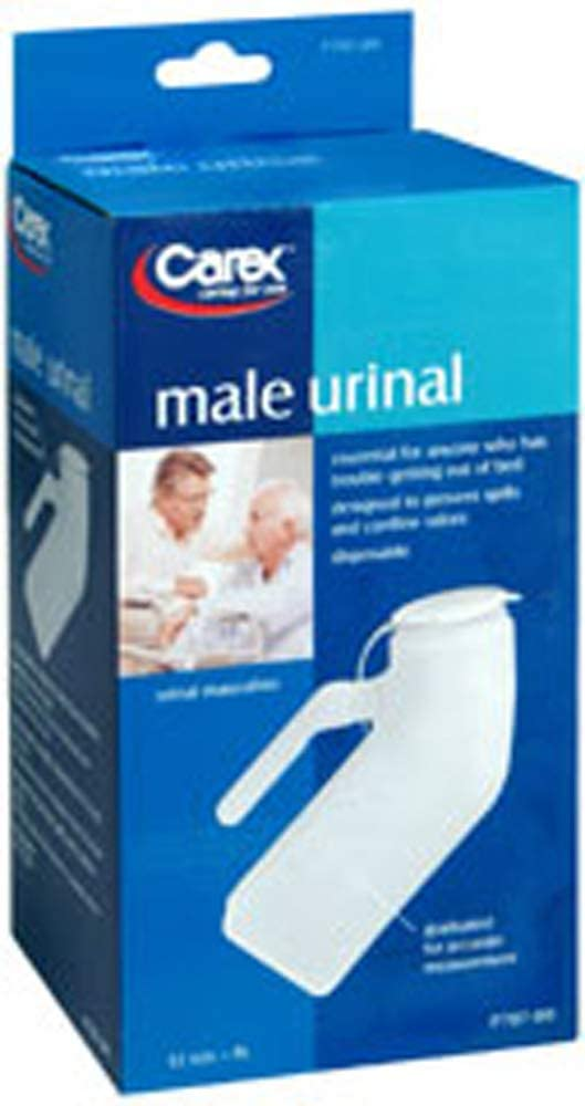 Carex Urinal Male Import 1 2 each Pack of Mail order