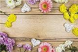 Fondo de fotografía de Vinilo para el Día de San Valentín, Accesorios de Fondo de fotografía de Palisandro de Flores, Fondo de Disparo de Estudio A29 10x7ft / 3x2,2 m