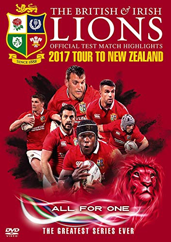 British & Irish Lions Official Test Match Highlights 2017 Tour To New Zealand [2 DVDs] [UK Import]