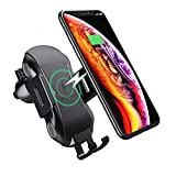 Wireless Car Charger, Automatic Clamping Gravity Car Mount Air Vent Phone Holder 10W