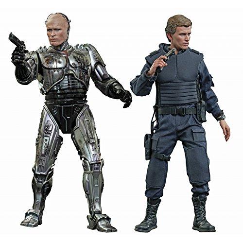 Robocop Movie Masterpiece Battle-Damaged Robocop & Alex Murphy 1:6 Diecast Figure