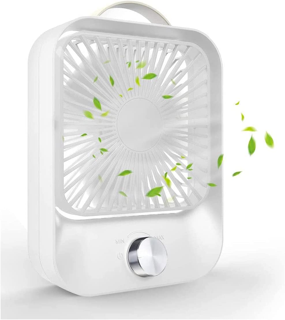 WACZJ Portable Rechargeable Small Table Lowest price challenge Great interest with Silent PU Fan H