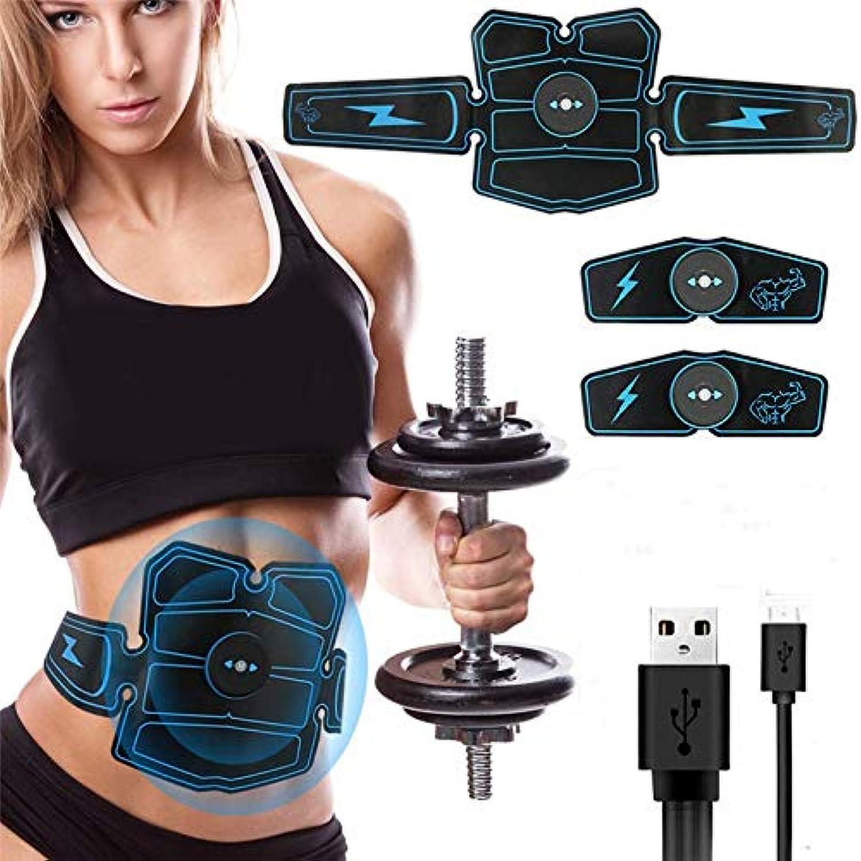 ZKYB 8 stücke Drahtlose Muskelstimulator Trainer Smart Fitness Bauchmuskeltraining Elektrische Gewichtsverlust Aufkleber Krper Slimmerbelt Unisex