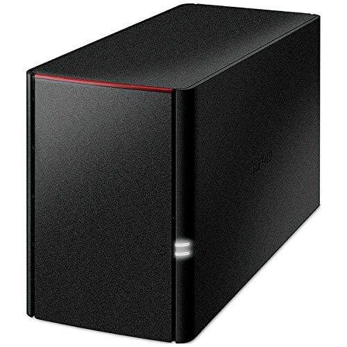 Buffalo Link Station voor SOHO Raid Functie High Trust HDD WD Rood met Netwerk HDD (NAS) 3_Jaar Garantie ls220dnb Series, blk