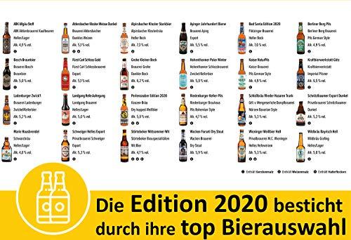 Kalea Bier Adventskalender 2020, 24 Biere von Privatbrauereien, inkl. Bier Informationen und Videos zu den Bieren, der neue Adventskalender von Kalea für Männer mit einem spannenden Design - 2