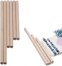 ZOYLINK 6 stuks houten pluggen DIY handwerk gereedschap 3 maten houten stok houten pluggen