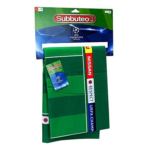 Subbuteo Campo Premium-UEFA Champions League, Colore Verde, Ninguna, 81472