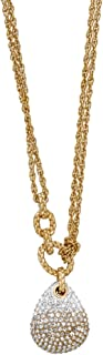 Swarovski Definite 5169002 Gradient Crystal Pave Pendant Gold-Plated Necklace