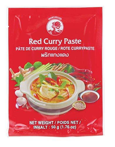 pate de curry rouge sachet de 50 grammes