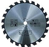 Lama per sega circolare per legno – Ø 400 x 30 mm / 24 denti | sega circolare manuale | HM – metallo duro | per segare in legno | per seghe circolari a mano