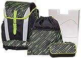 Schneiders Schulranzen-Set, Schultaschen-Set Toolbag Soft 'Color Crush', 4-teilig - neues Modell !!!!