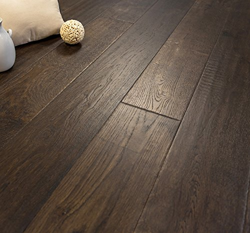 Wide Plank 7 1/2 x 5/8 European French Oak (Badlands) Prefinished Engineered Wood Flooring Sample at Discount Prices by Hurst Hardwoods