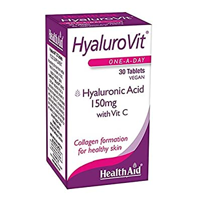 HealthAid Hyalurovit - Hyaluronic Acid - 30 Vegan Tablets
