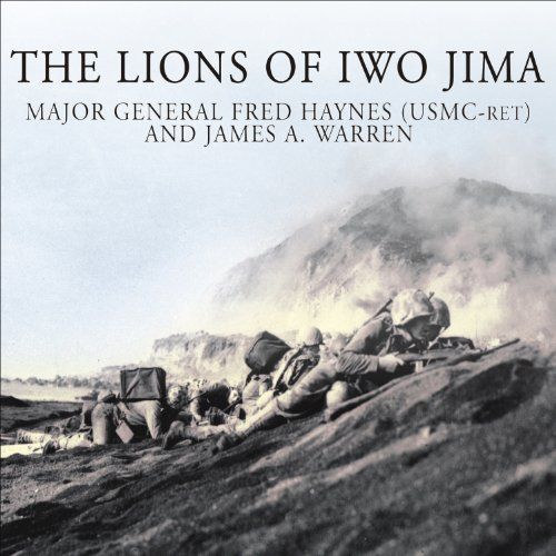 The Lions of Iwo Jima audiobook cover art