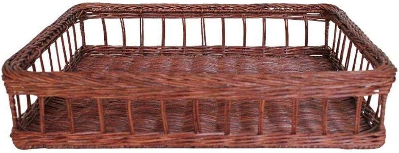 Bread Basket- Bamboo Rattan Storage Basket Basket Fruit Basket Basket Sundries Snacks Woven Storage Basket Bamboo Basket Bamboo Basket Storage Basket ZXMDMZ