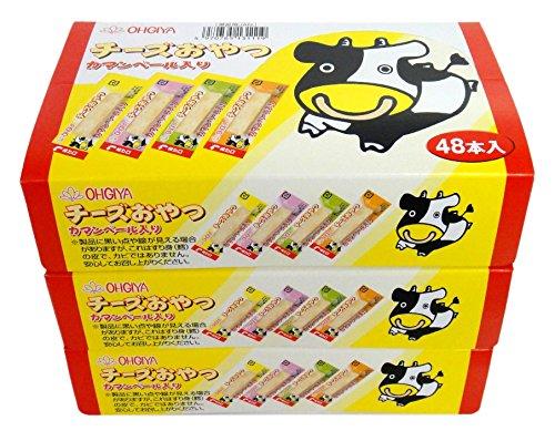 扇屋食品 チーズおやつ 48本×3箱