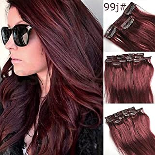 Best burgundy hair extensions Reviews