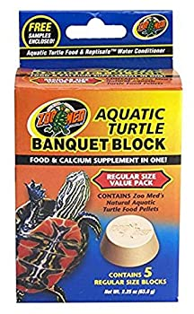 Zoo Med Block Value Pack for Aquatic Turtle 2.25 oz 5 Count