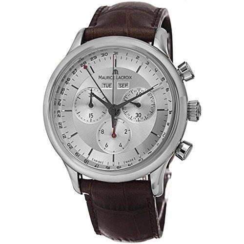 Maurice Lacroix LC1228-SS001131 - Reloj, Correa de Cuero