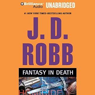 Fantasy in Death audiobook cover art