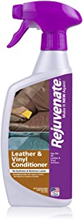 Rejuvenate Leather & Vinyl Conditioner – Rehydrate, Restore Luster and Protect All Leather & Vinyl Surfaces with No Greasy Residue