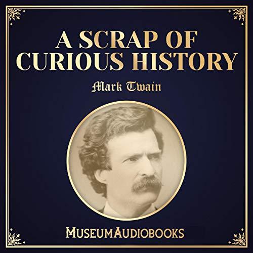 『A Scrap of Curious History』のカバーアート