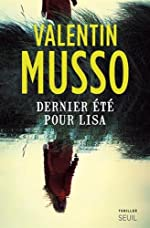 Dernier été pour Lisa de Valentin Musso