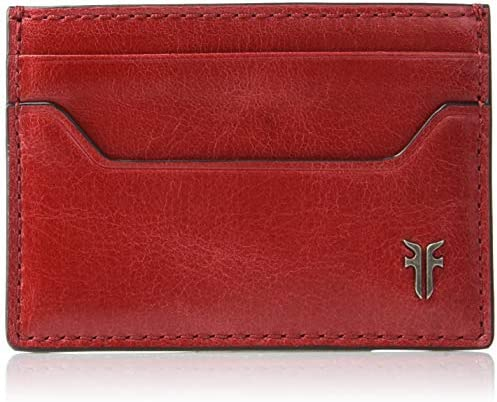 Frye Men s Austin Card Case Red ONE SIZE product image