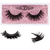 1 Pair Mink 3D False Eyelashes Handmade Thick Nature Fluffy Long Fake Eye Lashes Reusable Wear (1pair/mt01)