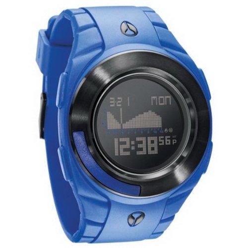 Nixon A128374-00 - Reloj Digital de Cuarzo para Hombre con Correa de plástico, Color Azul