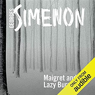 Maigret and the Lazy Burglar cover art