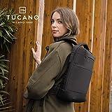 Tucano - Astra Backpack, Rucksack Reisekit Anschluss PC Kompatibel Mit MacBook E Laptop, IN Polyester Riciclato. Polsterbett E Schutz Hülle Mit Anti Shock System - 4