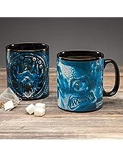 Paladone Dungeons and Dragons värmekänslig mugg – färgändring 550 ml (18 5floz) mugg