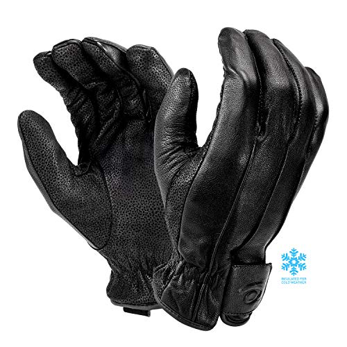 Hatch WPG100 Winterhandschuhe aus Leder, isoliert, Schwarz, Größe XL