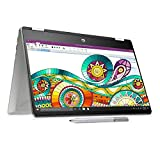 HP Pavilion x360 core i3 10th Gen 14 inch HD Touchscreen Laptop with Alexa Built-in (8GB/256 GD SSD/Windows 10/MS Office 2019/Natural Silver/1.58kg), 14-dh1176tu