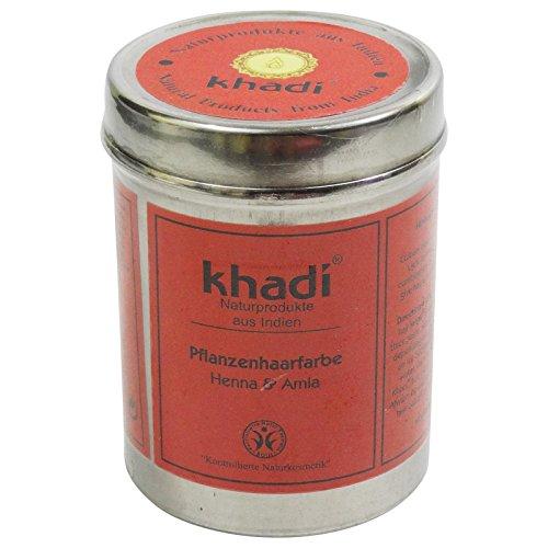 KHADI® Tinte Vegetal Henna & Amla - Tiñe tu cabello