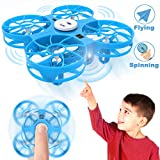 Flying Toys Kids Mini Drone, WEW T4 Hand Operated Drone with Magical Sensors,...